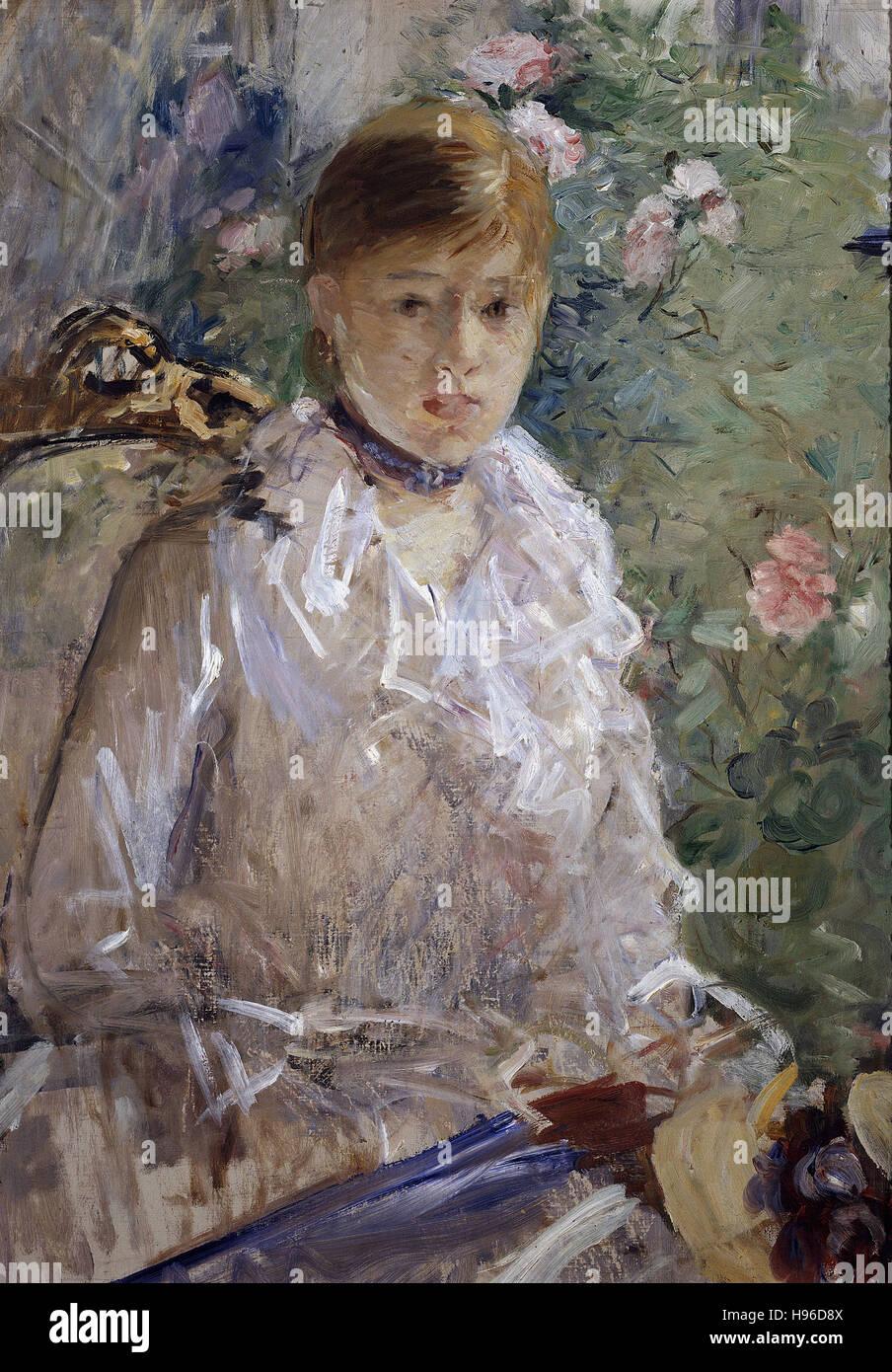 Berthe Morisot - Estate - 1880 - Immagini Stock