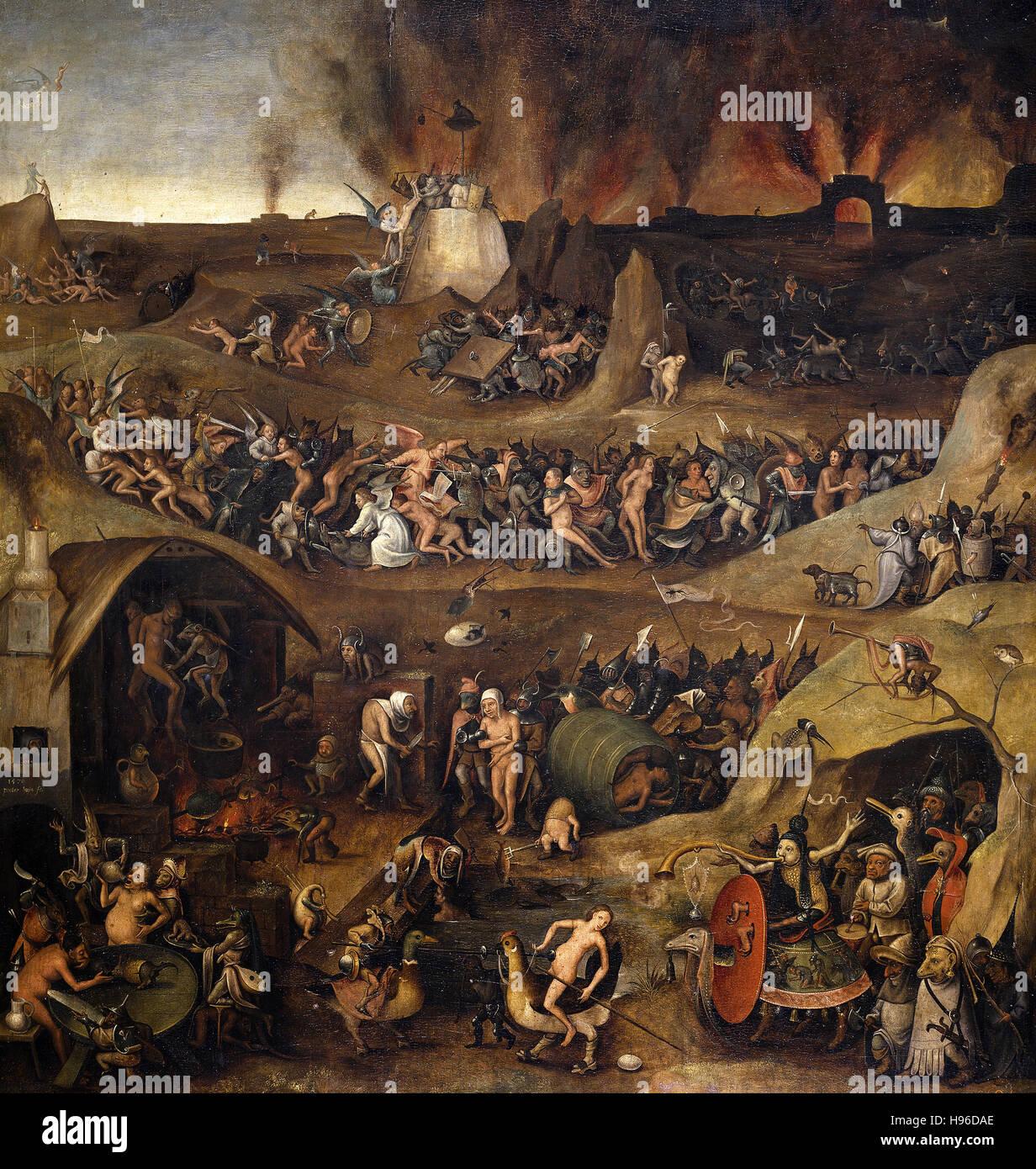 1570. Olio su pannello. 86 x 82 cm. Museo Nacional del Prado di Madrid. P02095. Immagini Stock