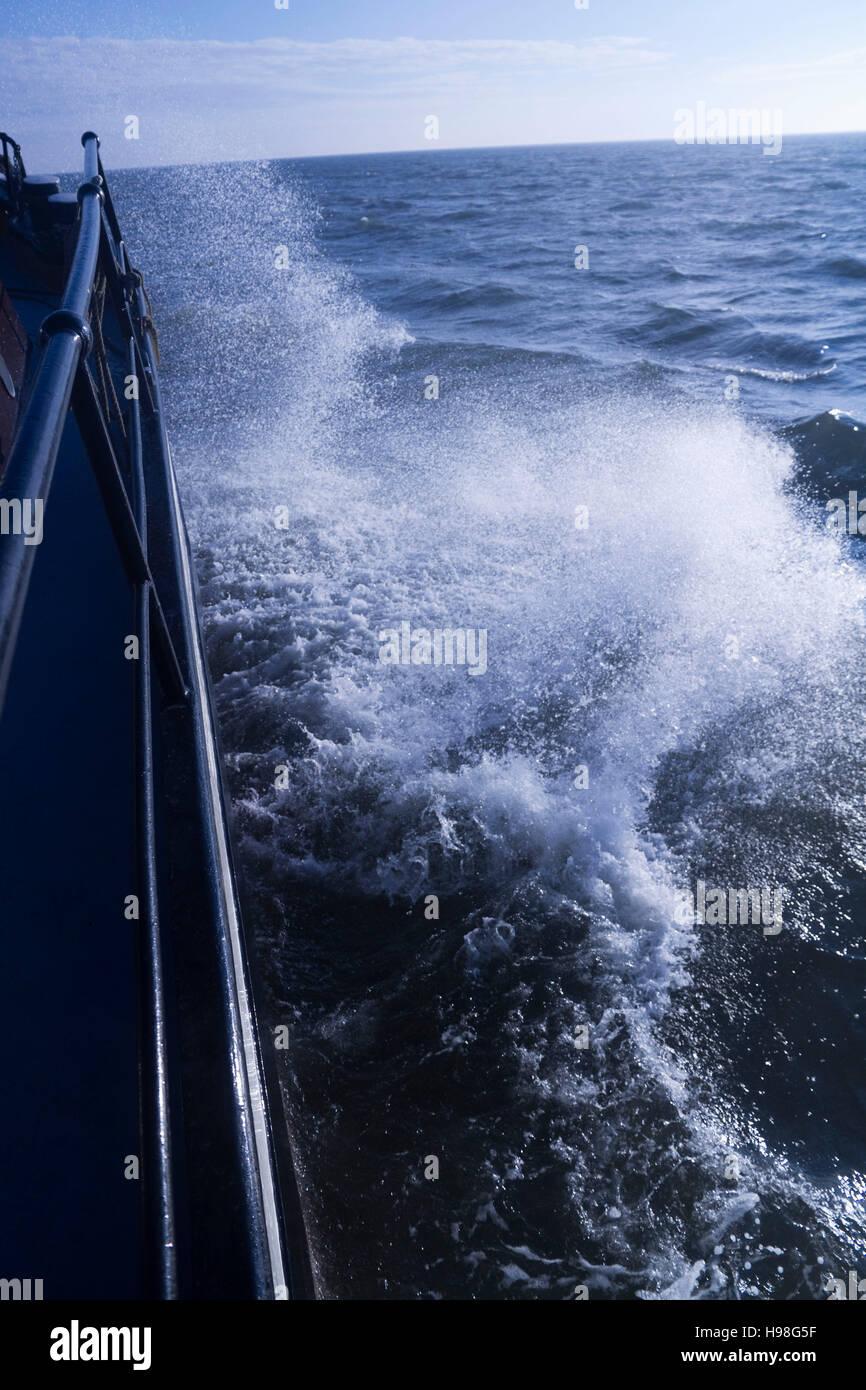 Vela il Waddenzee su una nave storica, Paesi Bassi Immagini Stock