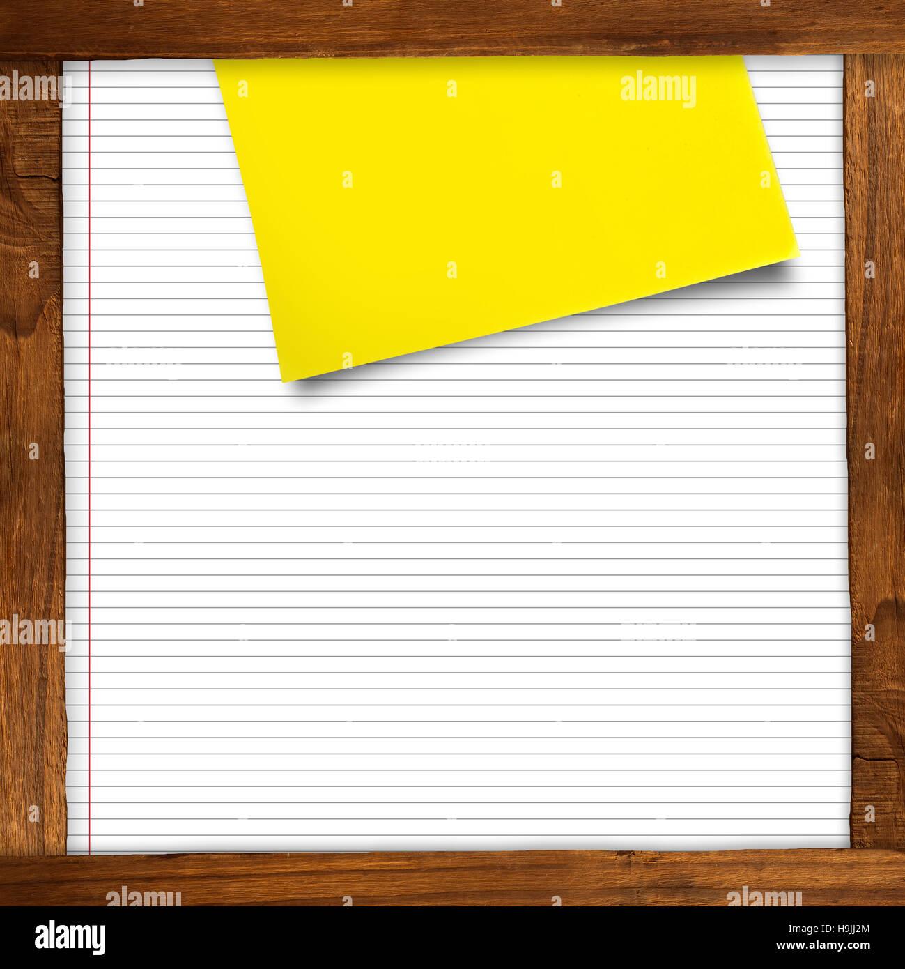 Immagine composita di grigio nota adesiva Immagini Stock