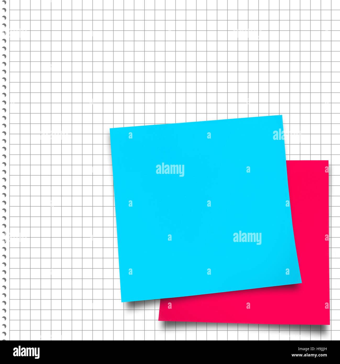 Immagine composita di rosa nota adesiva Immagini Stock