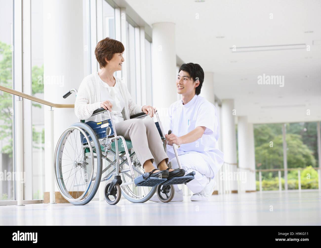 nipponico infermiera sesso con paziente