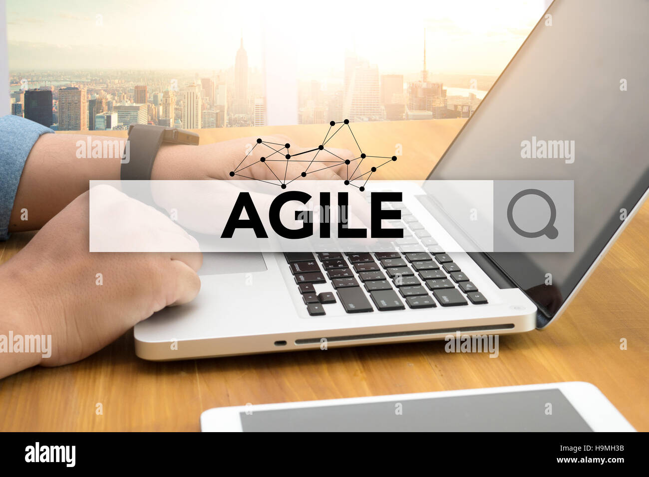 Agilità Agile agile Quick Fast Concept Immagini Stock