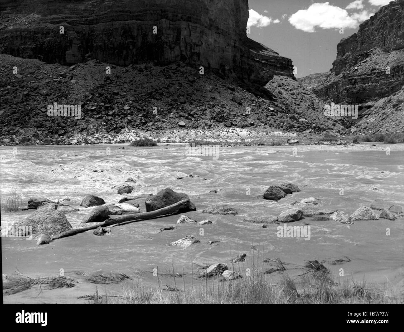 Grand Canyon Parco Nat; Storica sul fiume fiume foto, COLORADO Immagini Stock