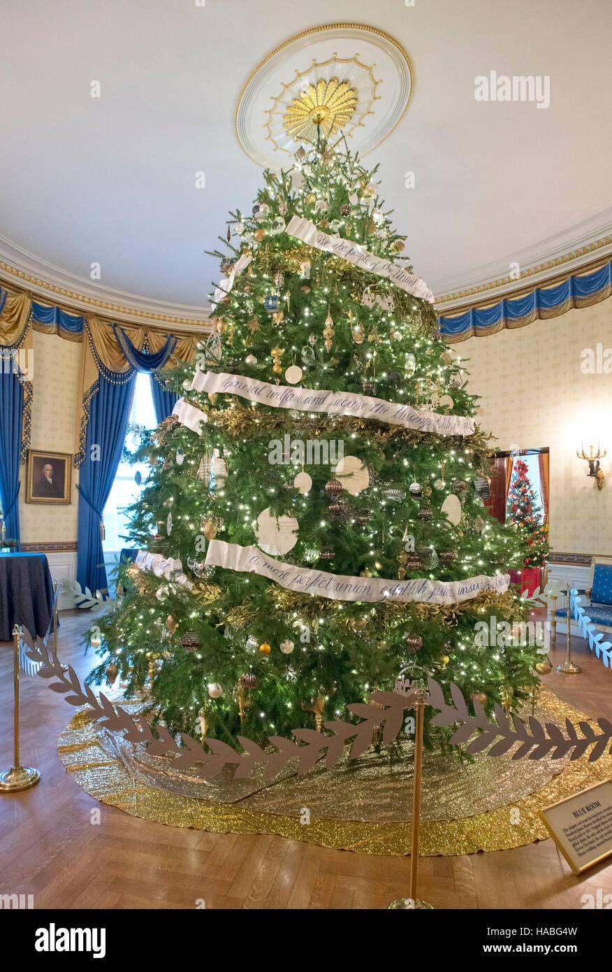 Decorazioni Natalizie Per La Camera il 2016 casa bianca decorazioni natalizie sono visualizzati