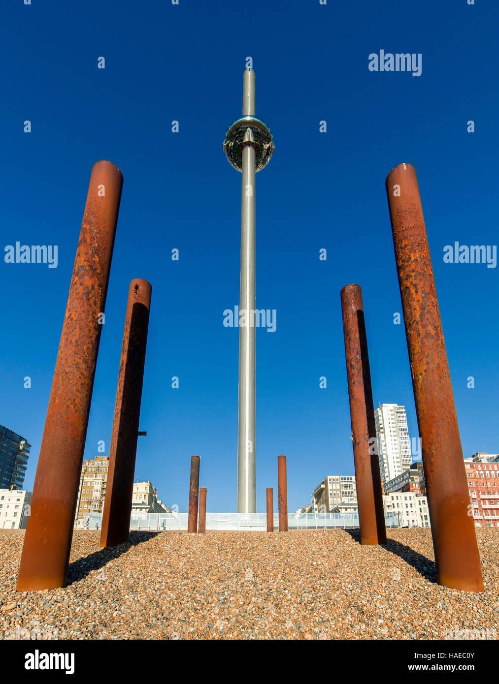 i360 Brighton. Immagini Stock