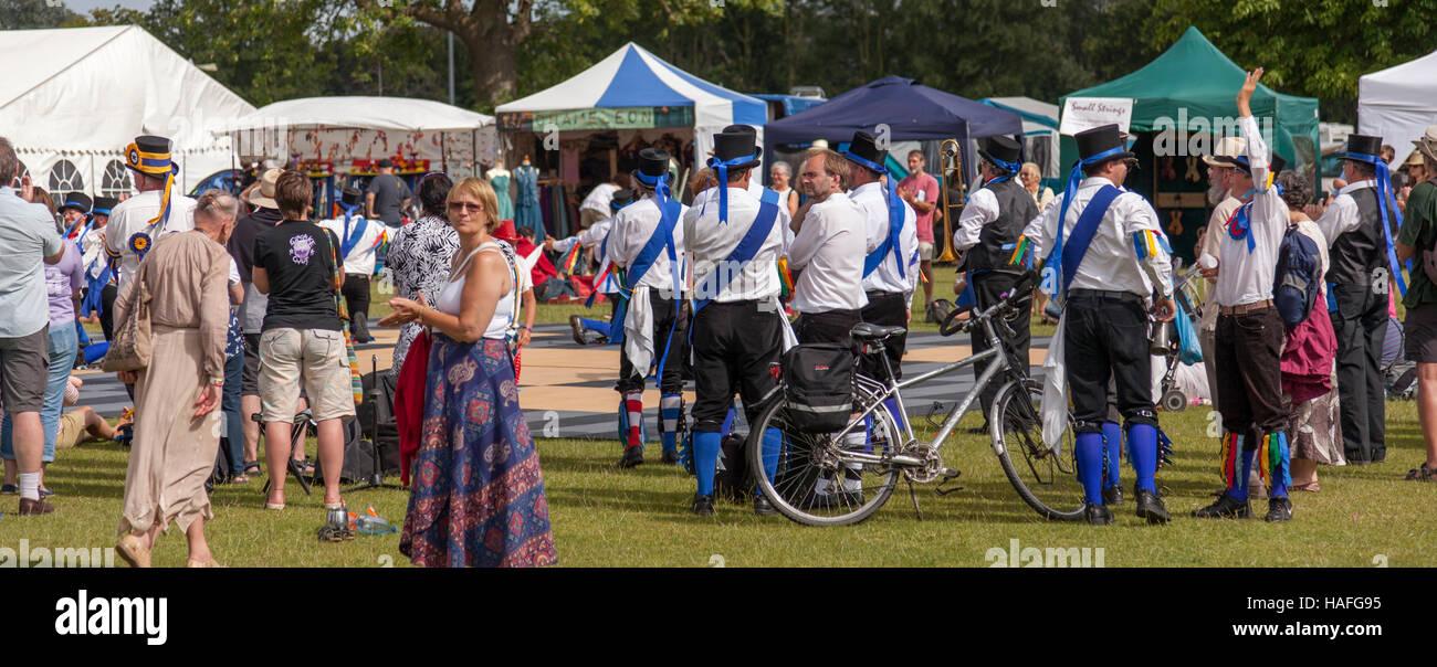 Warwick folk festival Foto Stock
