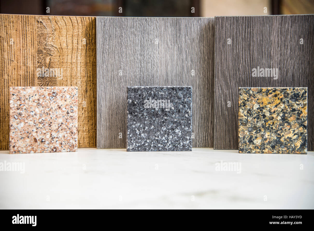 I campioni di pietra per piani di lavoro per cucina e cucina moderna ...