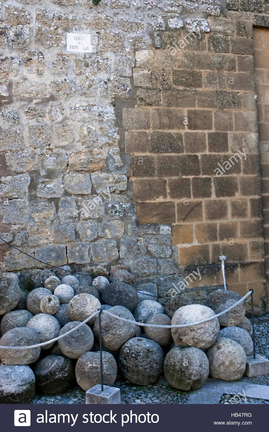 Carichi di pietra per canon Immagini Stock
