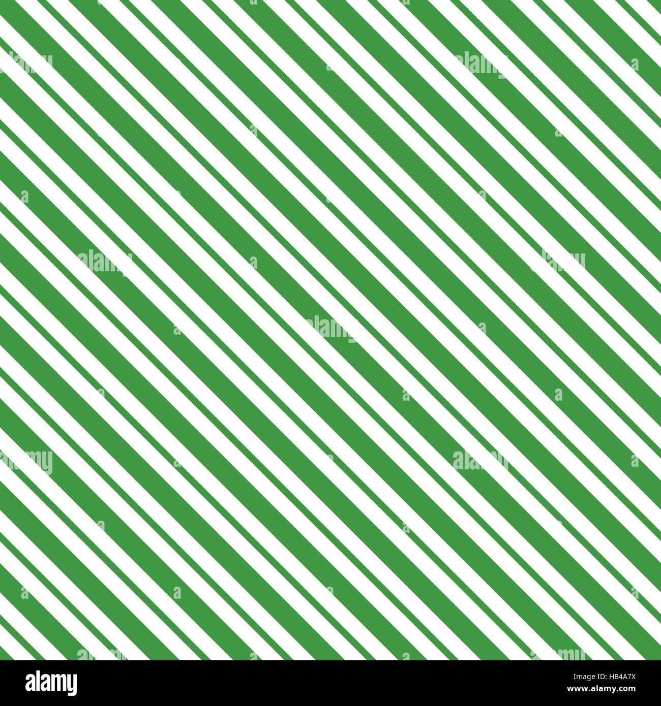 Verde inclinato seamless pattern a strisce di imballaggio lo sfondo della carta in formato vettoriale Immagini Stock