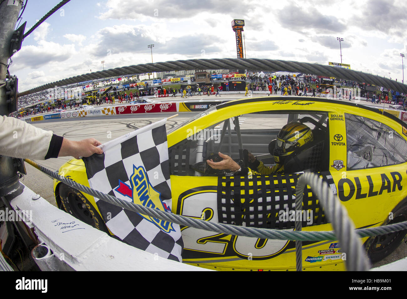NASCAR: Maggio 15 AAA 400 che beneficiano autismo parla Immagini Stock
