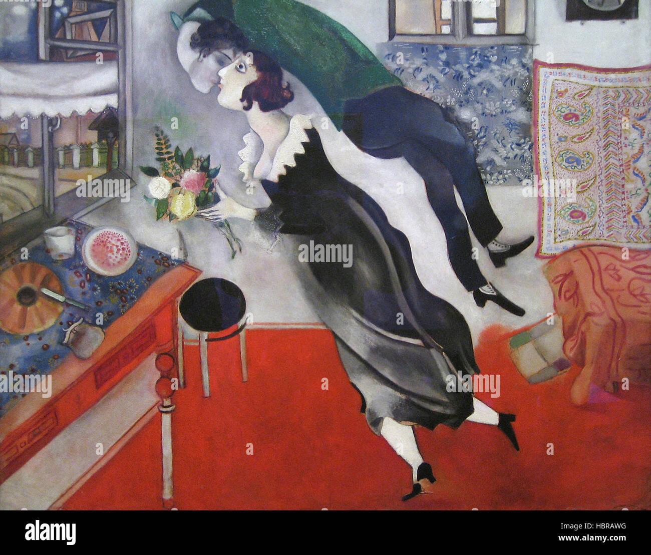 Marc Chagall compleanno Immagini Stock
