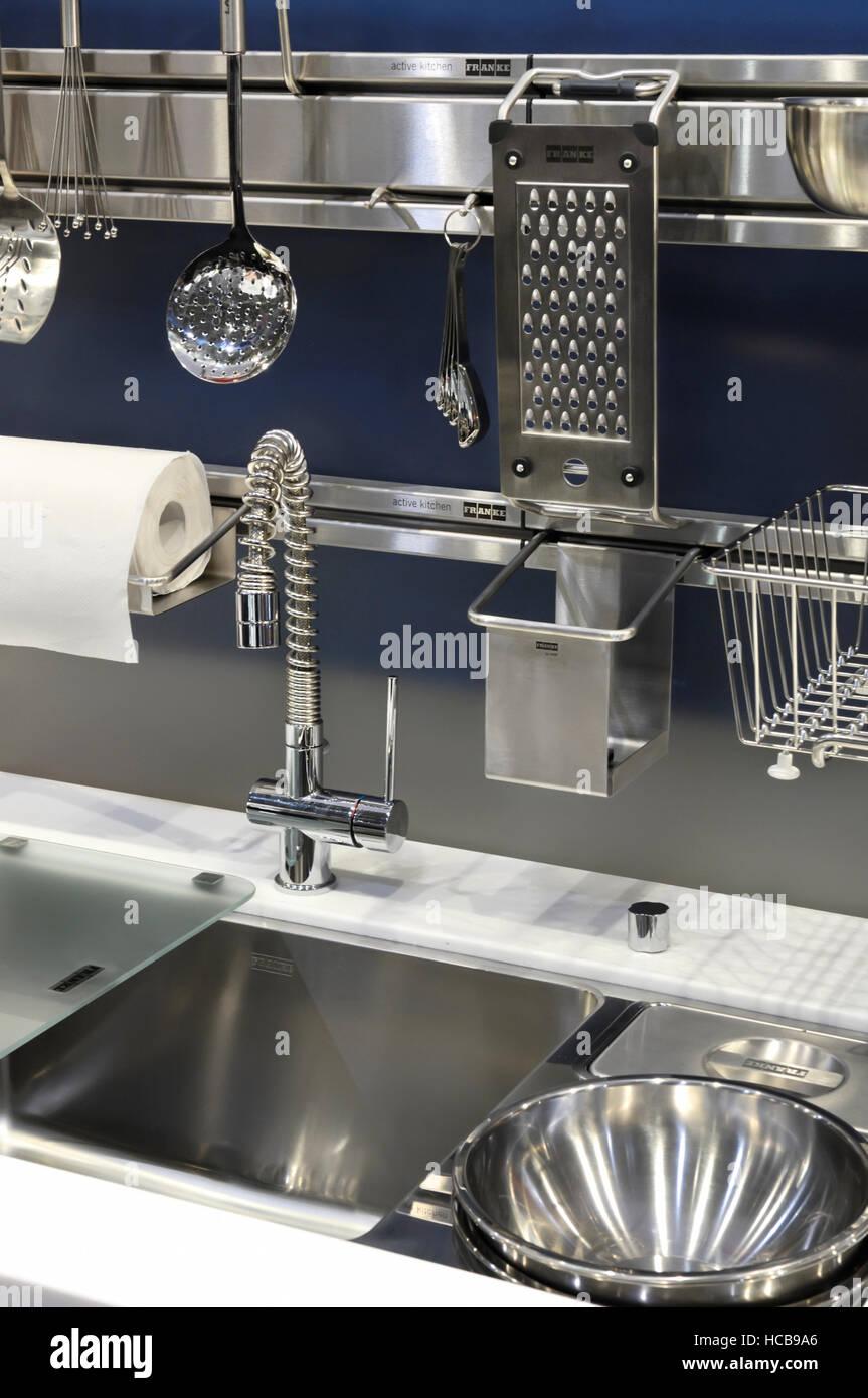 FRANKE Cucina attiva, lavello in acciaio inox e accessori Foto ...