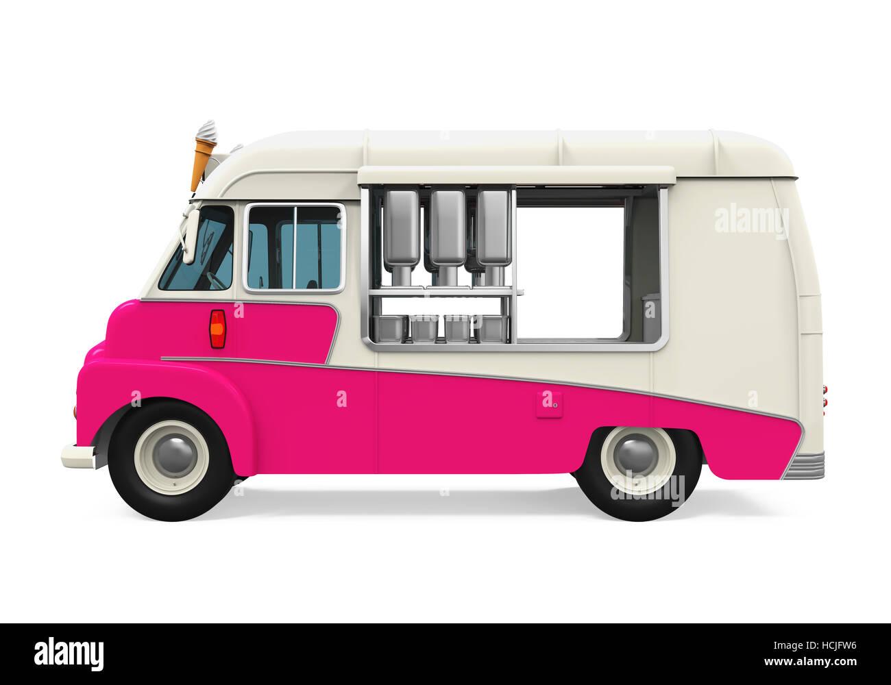 Il Camion Dei Gelati Foto Immagine Stock 128256050 Alamy