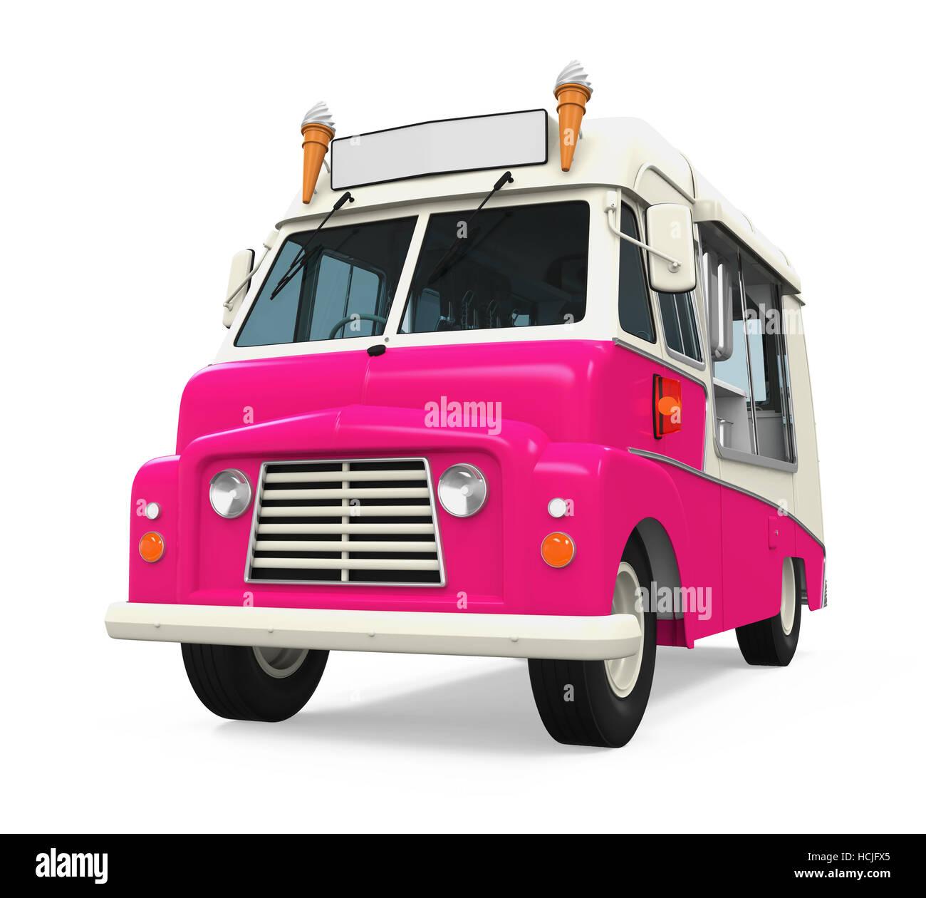 Il Camion Dei Gelati Foto Immagine Stock 128256077 Alamy
