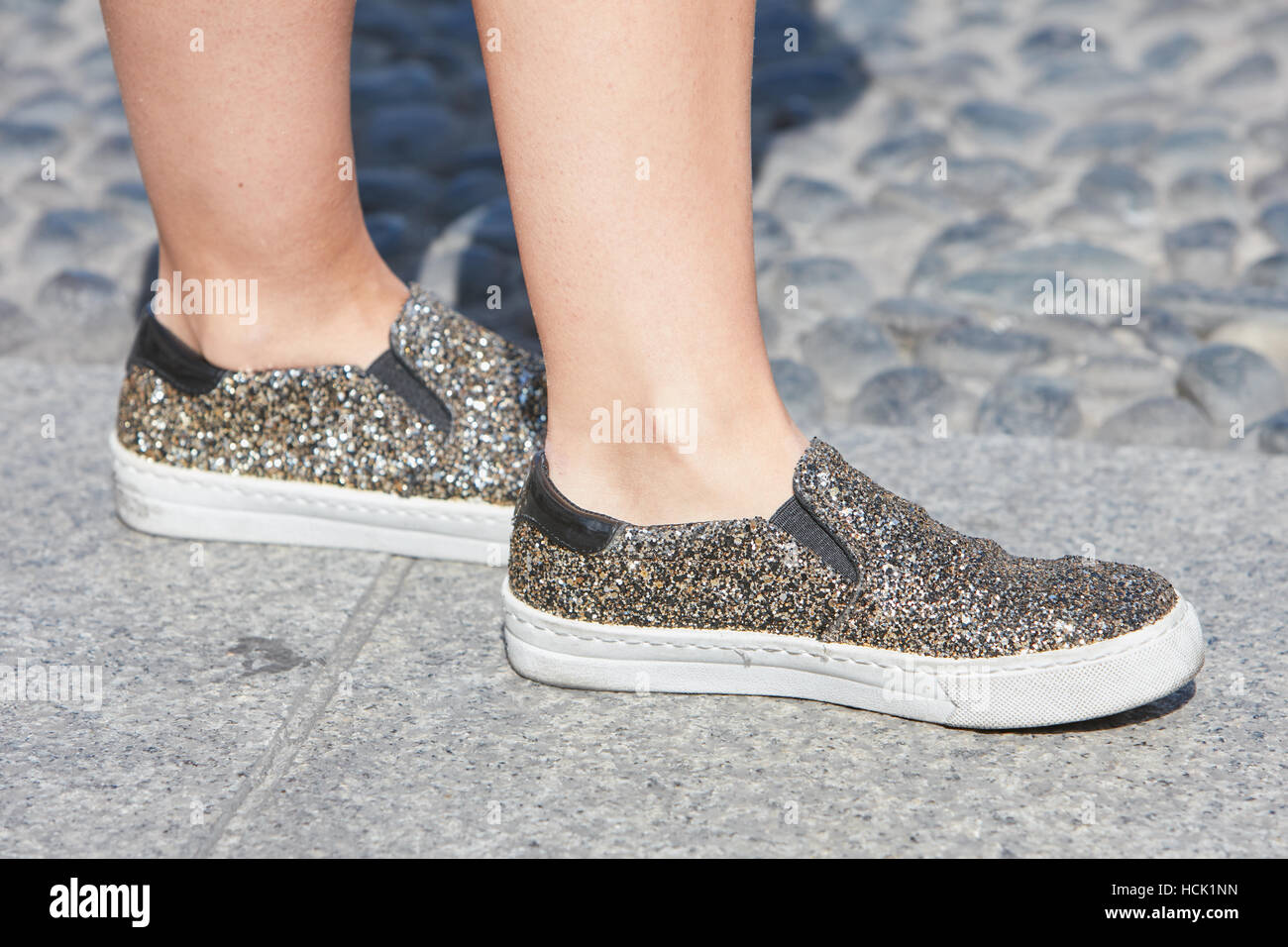 Scarpe Lucide Donna E Rdbxweco Argento Glitter Stella Oro Prima Con Jean TJlK1Fc3