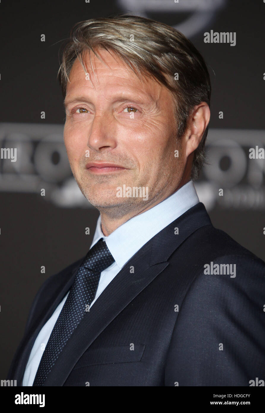 Hollywood, CA, Stati Uniti d'America. Decimo Dec, 2016. 10 Dicembre 2016 - Hollywood, California - Mads Mikkelsen. Immagini Stock