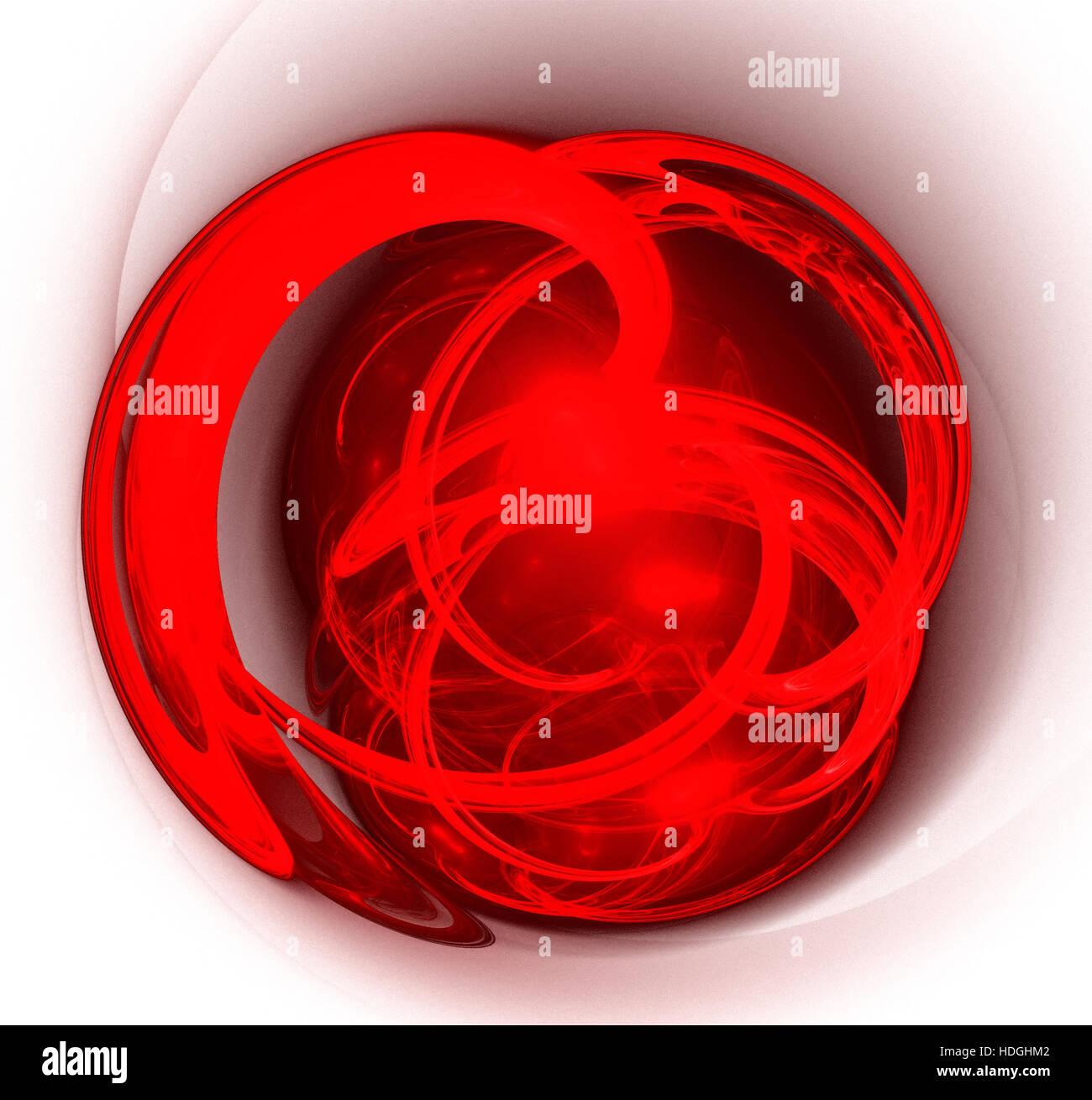 Larte Astratta Cuore Rosso Sfondo Wallpaper Foto Immagine