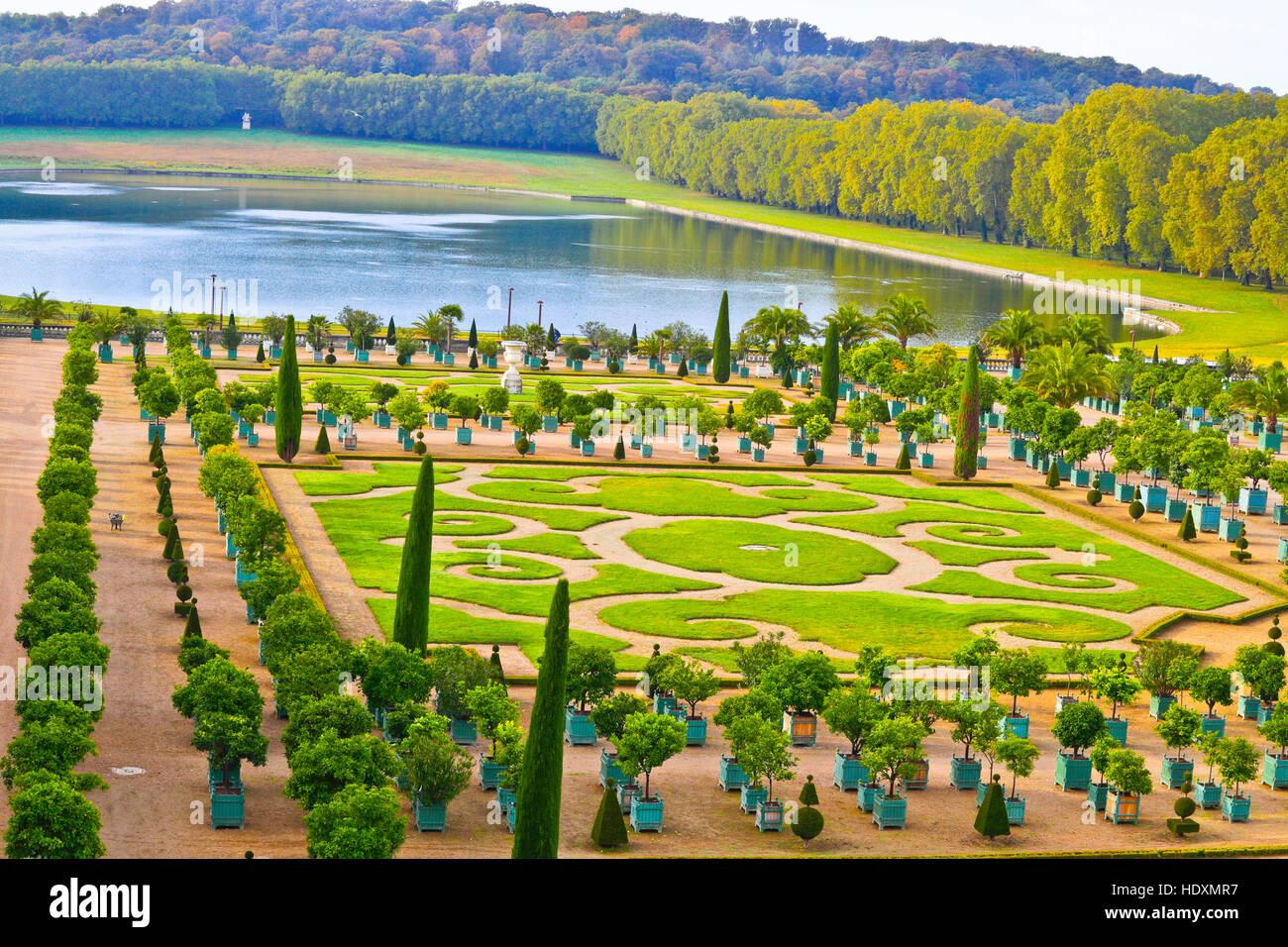 Giardini di versailles l orangerie chateau de versailles