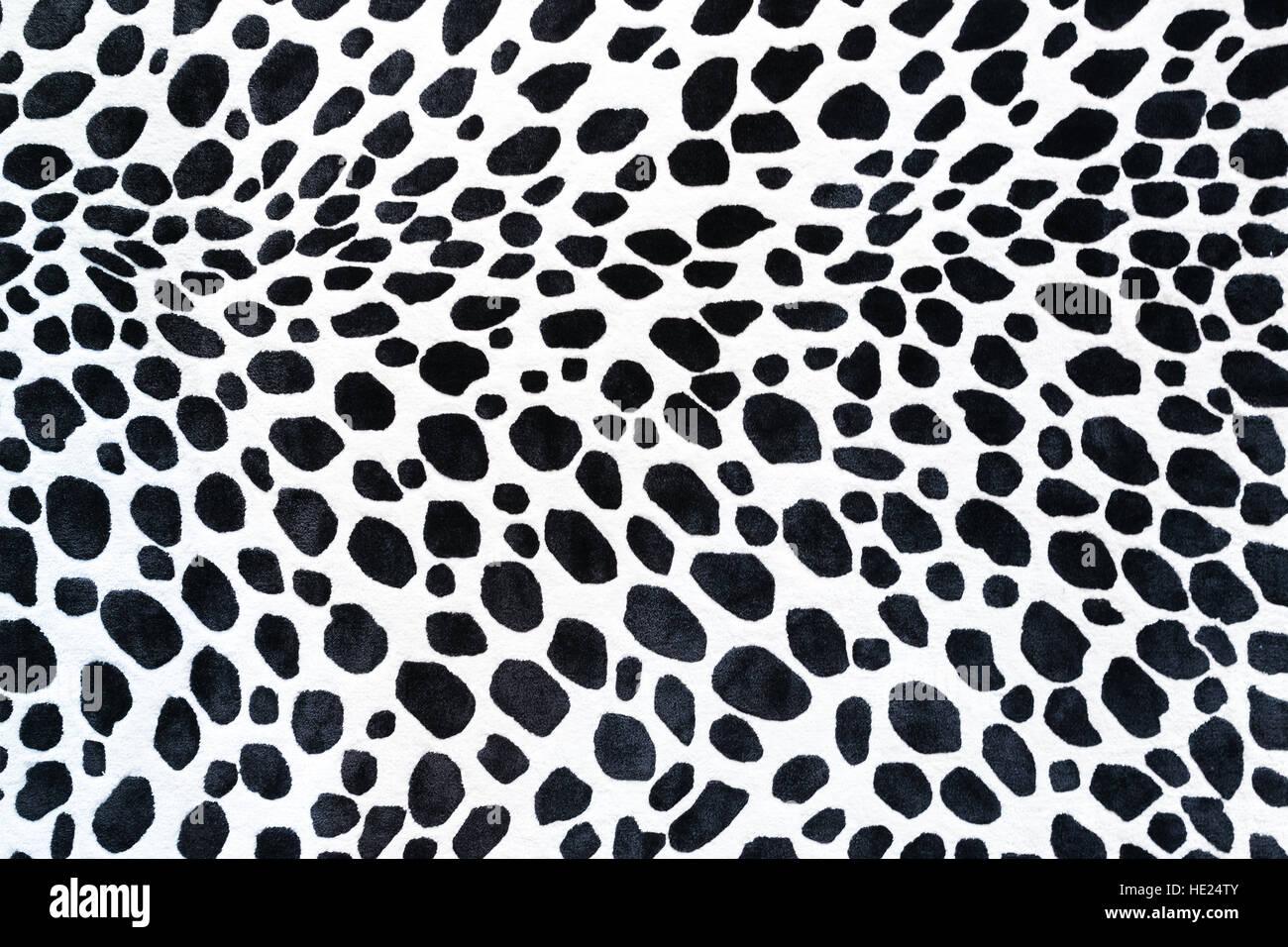 Seamless modello animale per il design tessile. Modello senza giunture delle macchie della Dalmazia. Texture naturali. Immagini Stock