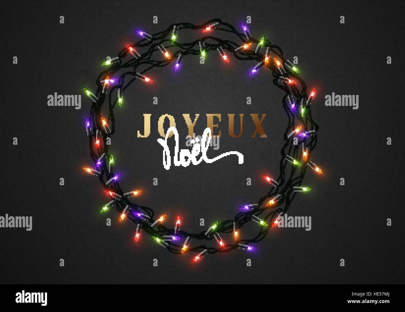Auguri Di Buon Natale Francese.Auguri Di Buon Natale Iscrizione Francese Joyeux Noel