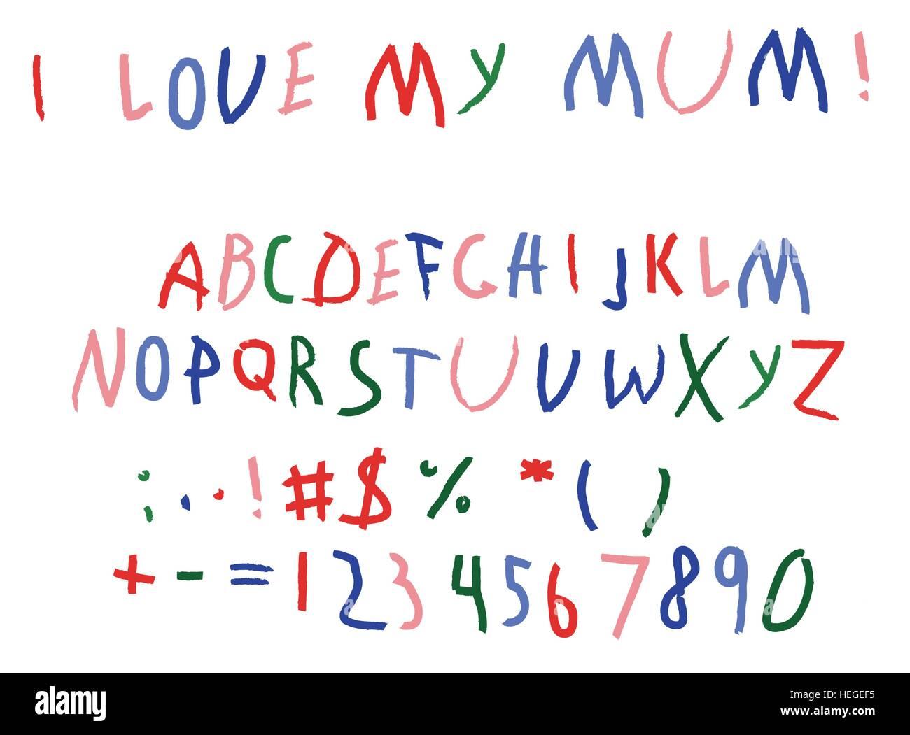 Kids font immagini fotos stock alamy