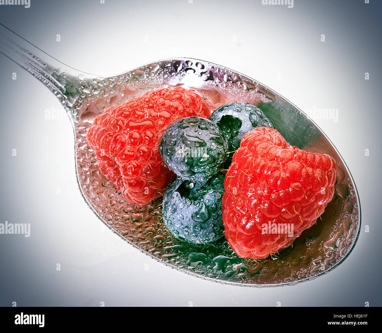 Frutti di bosco Foto Stock