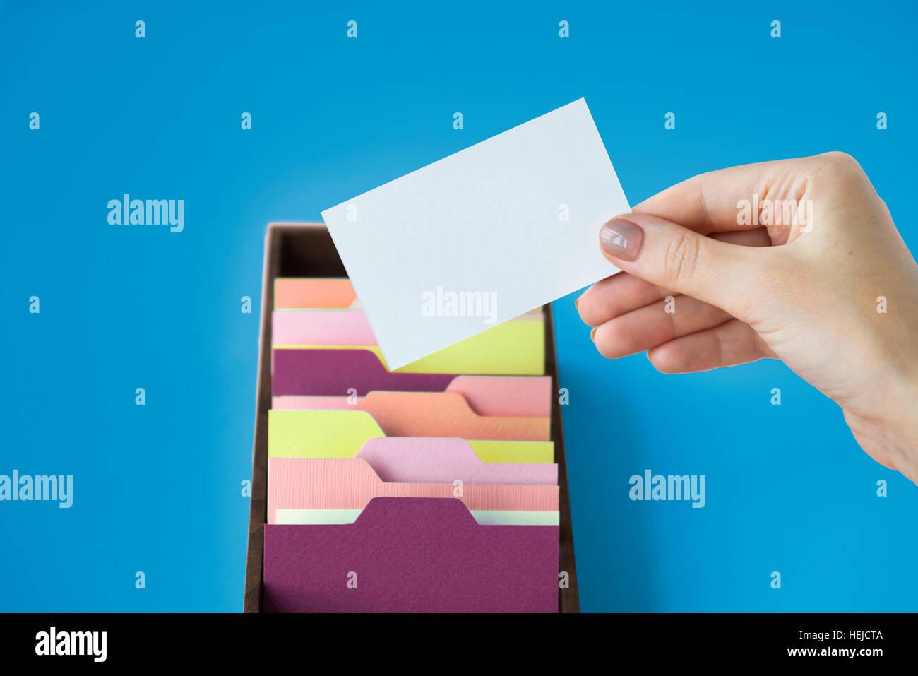 Storage di archivio di amministrazione di backup il concetto di memoria Immagini Stock