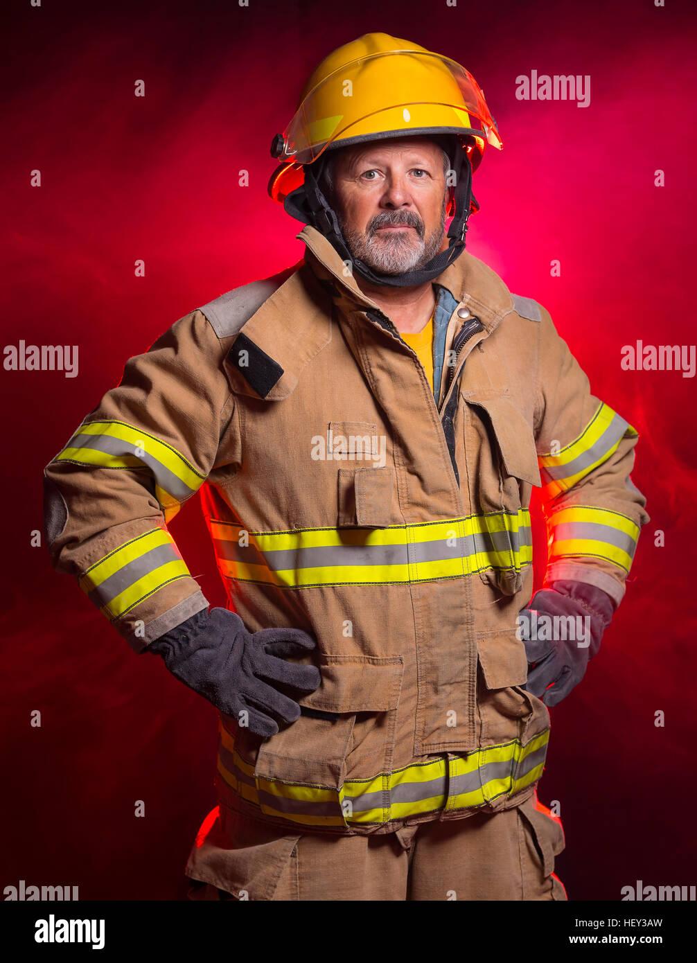 Dei vigili del fuoco CASCO GIALLO FIRE FIGHTER CASCO