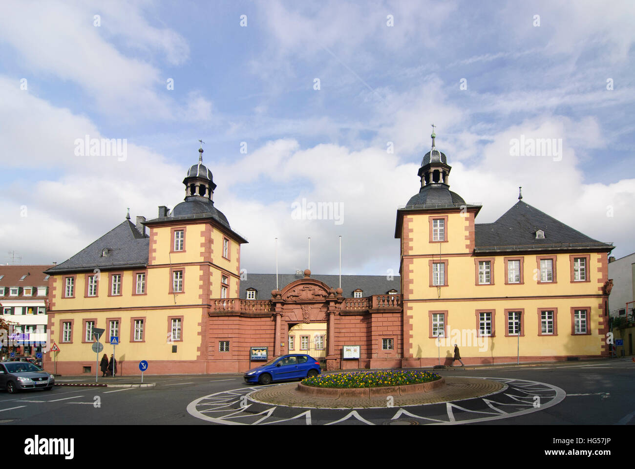 Aschaffenburg: Museo di Scienza Naturale, Unterfranken, bassa Franconia, Baviera, Baviera, Germania Immagini Stock