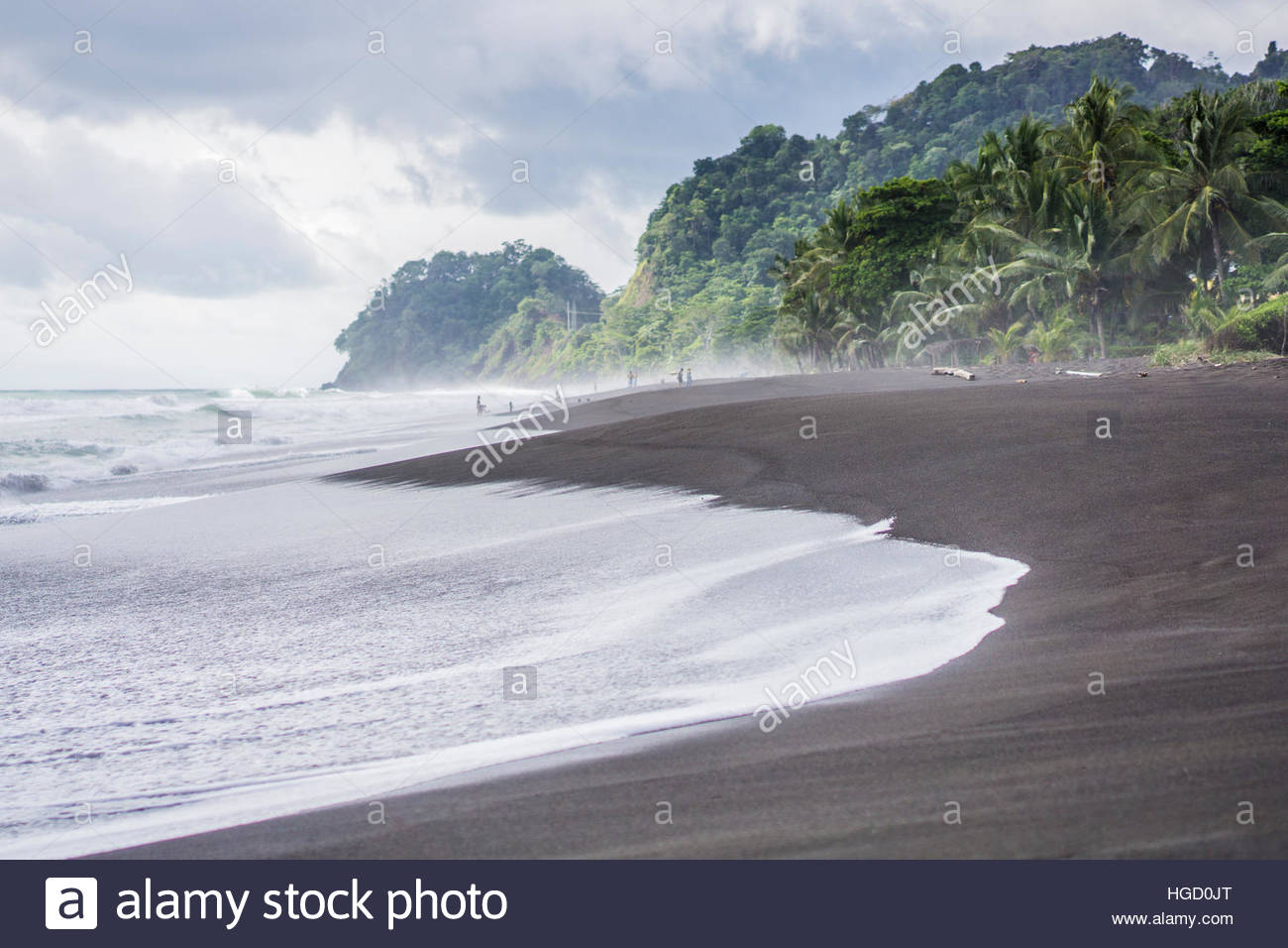 Playa Hermosa, Costa Rica, America centrale 2015 Immagini Stock