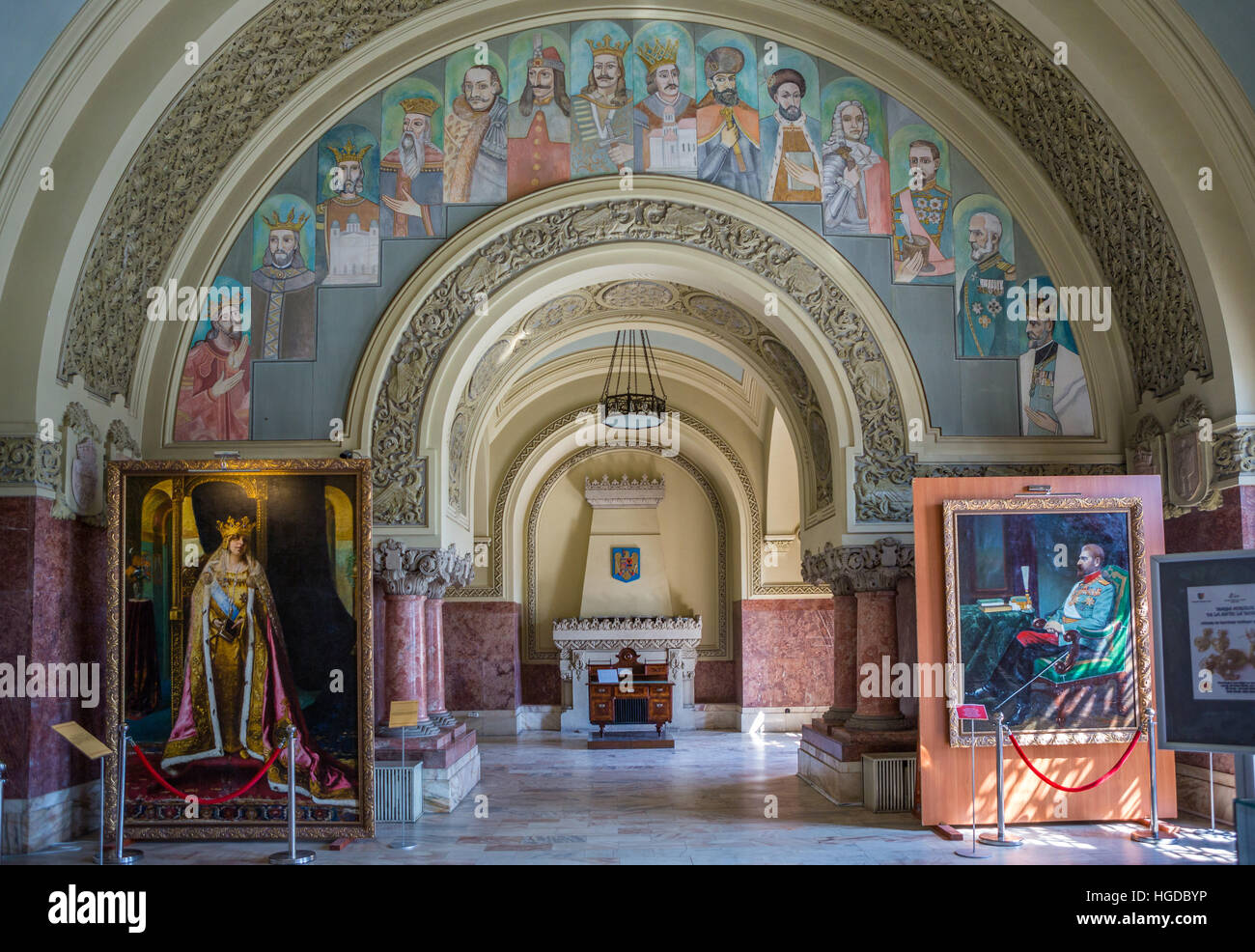 La Romania, Alba Julia, città di Alba Julia Cittadella, Alba Julia Museum, Immagini Stock