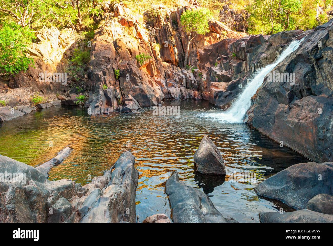 Kakadu National Park (Territorio del Nord Australia) paesaggio vicino Gunlom lookout Foto Stock