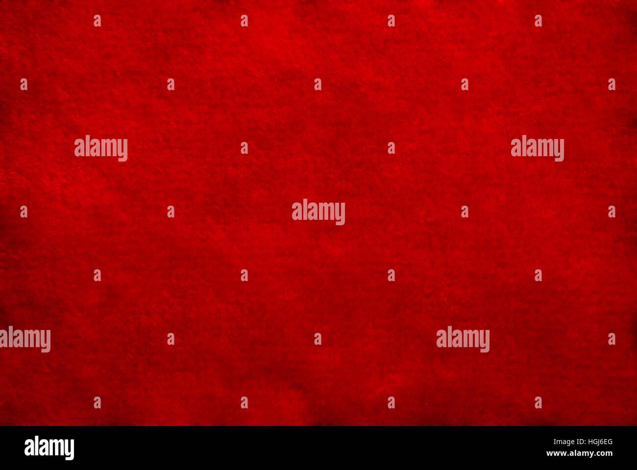 Close up di color rosso texture tessile per gli sfondi. Immagini Stock