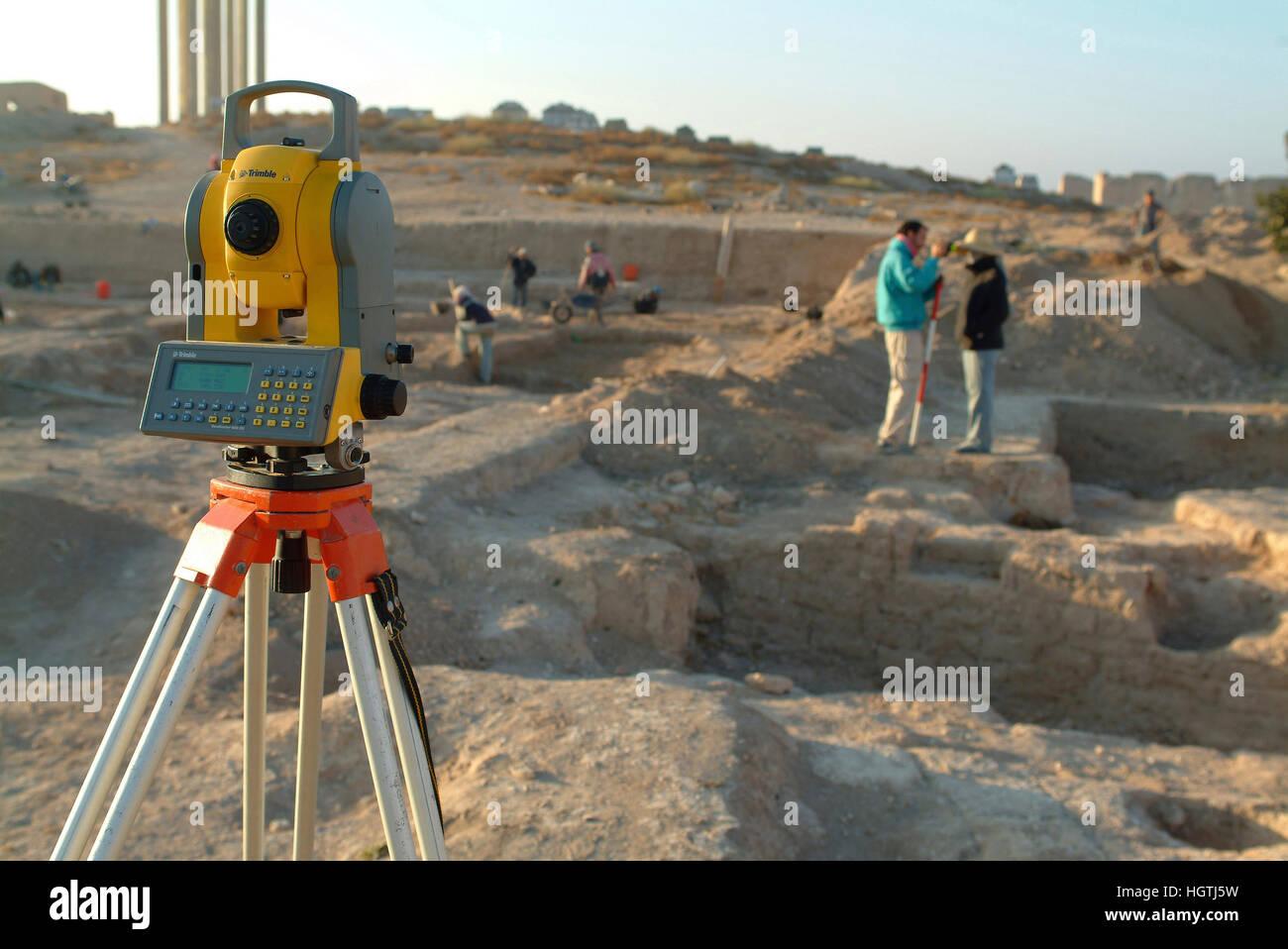 Siria Qatna antica città di Qatna Immagini Stock