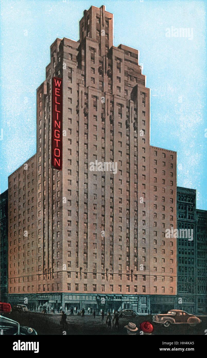 Hotel Wellington a 7th Avenue a 55th Street a New York City ...