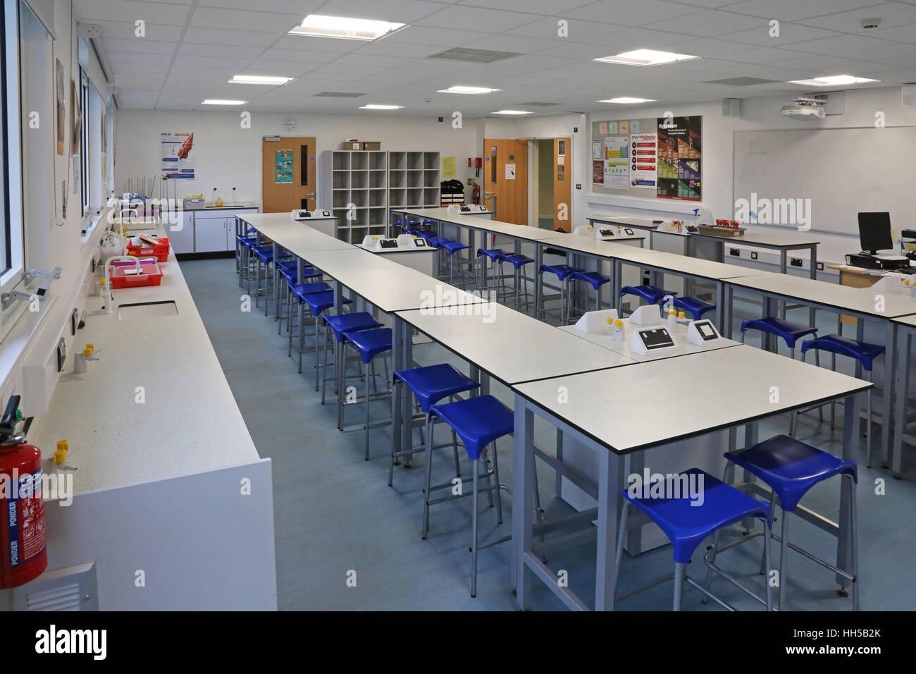 La scienza in aula un nuovo regno unito la scuola secondaria. mostra