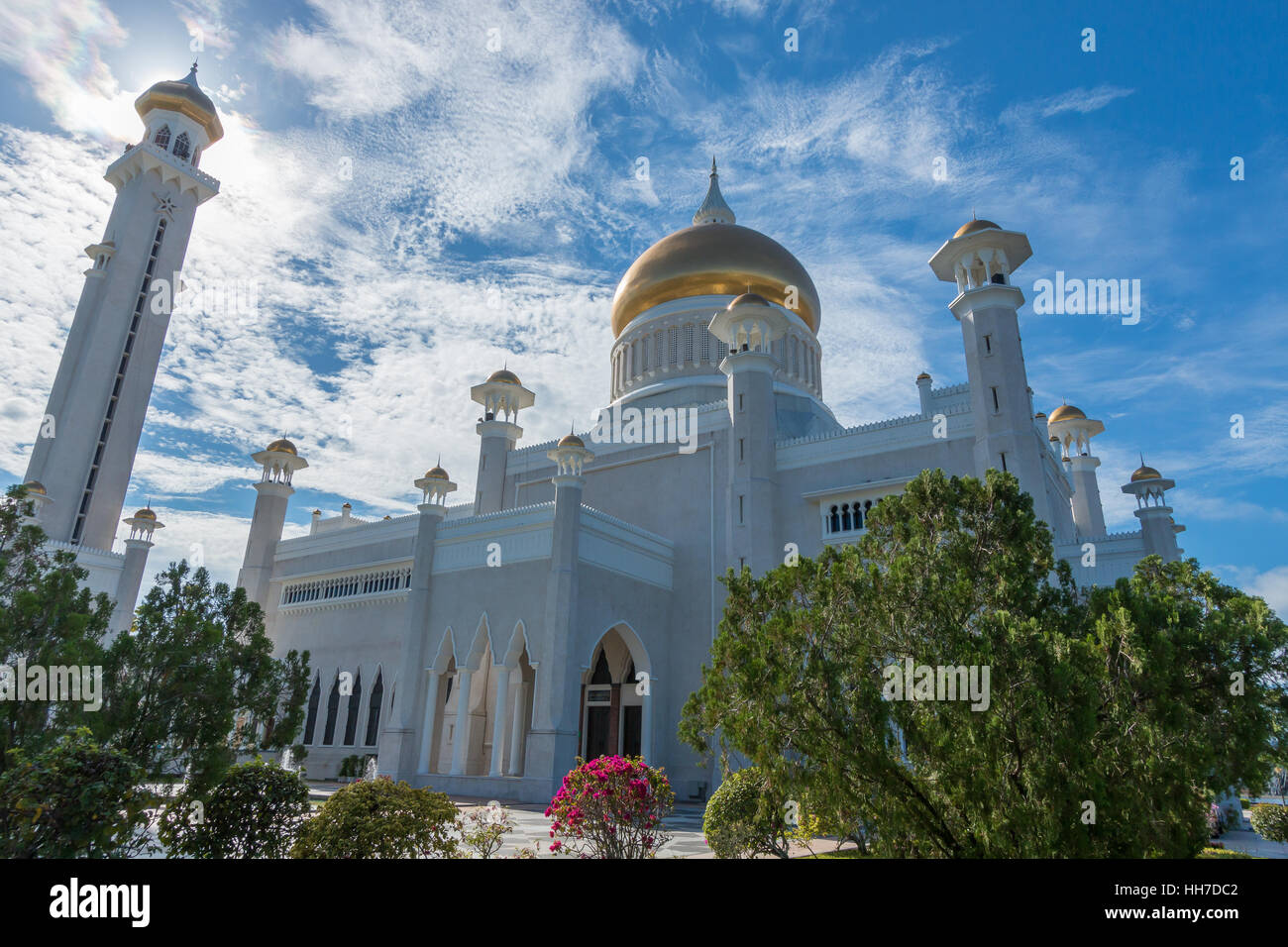 Jame' Asr Hassanil Bolkiah Masjid Jame' ASR, Brunei Immagini Stock