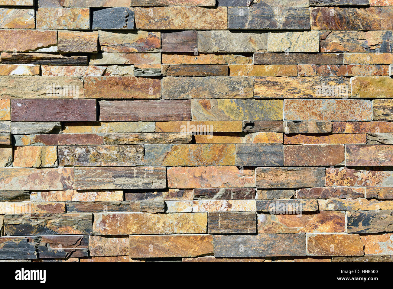Mattonelle in pietra design della parete moderna Immagini Stock