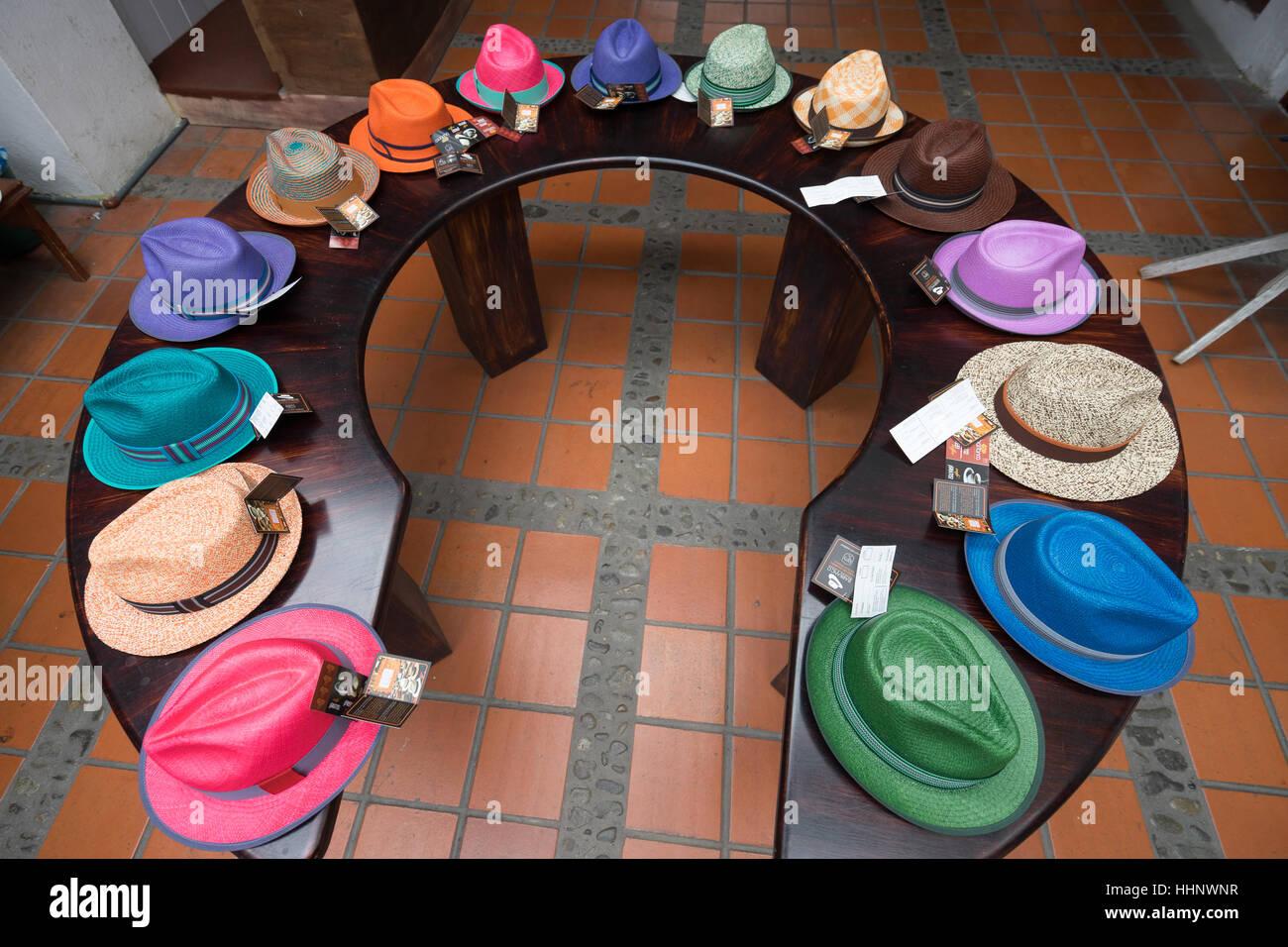 Cuenca Panama Hats Immagini   Cuenca Panama Hats Fotos Stock - Alamy 607f43462717