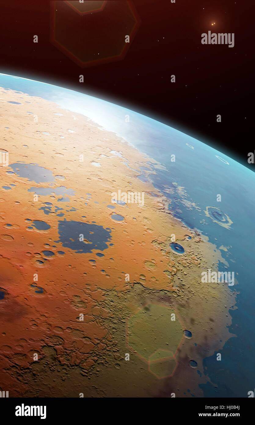 Proxima è la stella più vicina al Sole è una dim red dwarf, minore il nostro sole e molte migliaia Immagini Stock