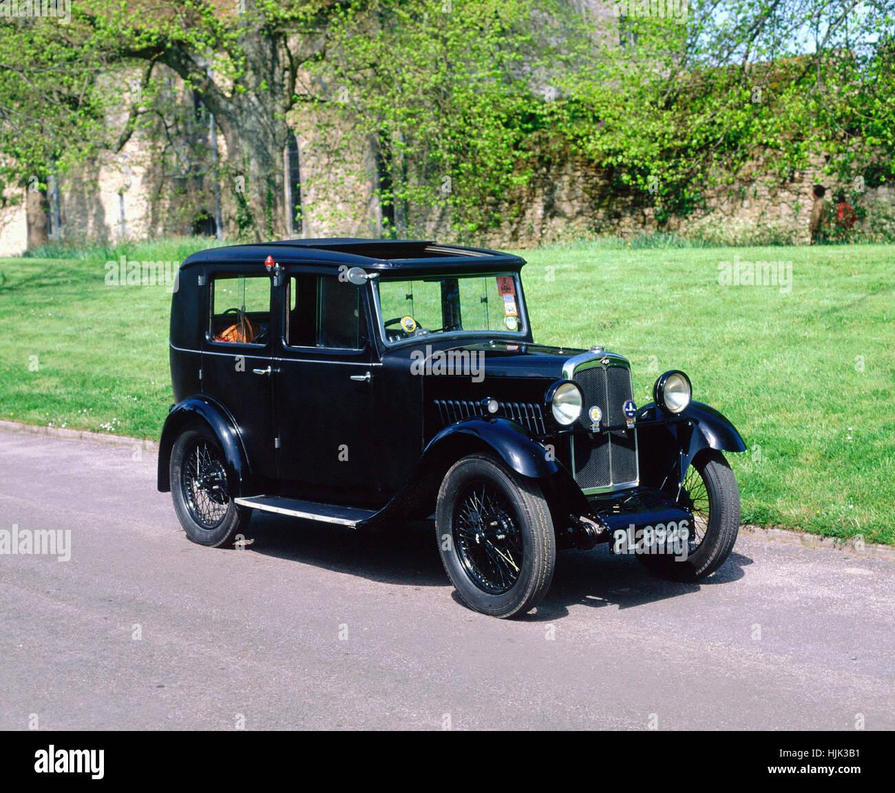AJS 1931 nove Immagini Stock