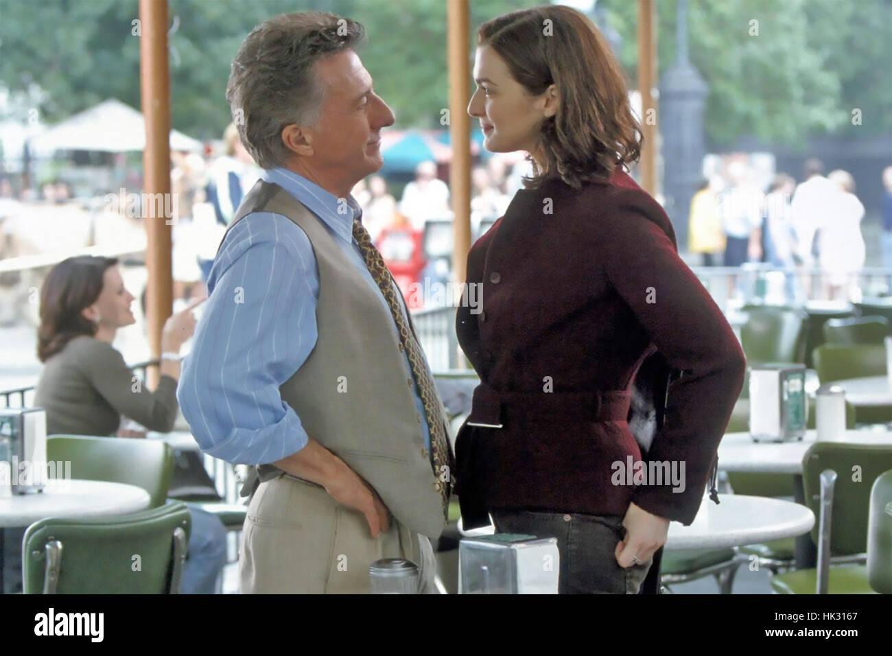 RUNAWAY GIURIA 2003 Regency Enterprises film con Rachel Weisz e Dustin Hoffman Immagini Stock