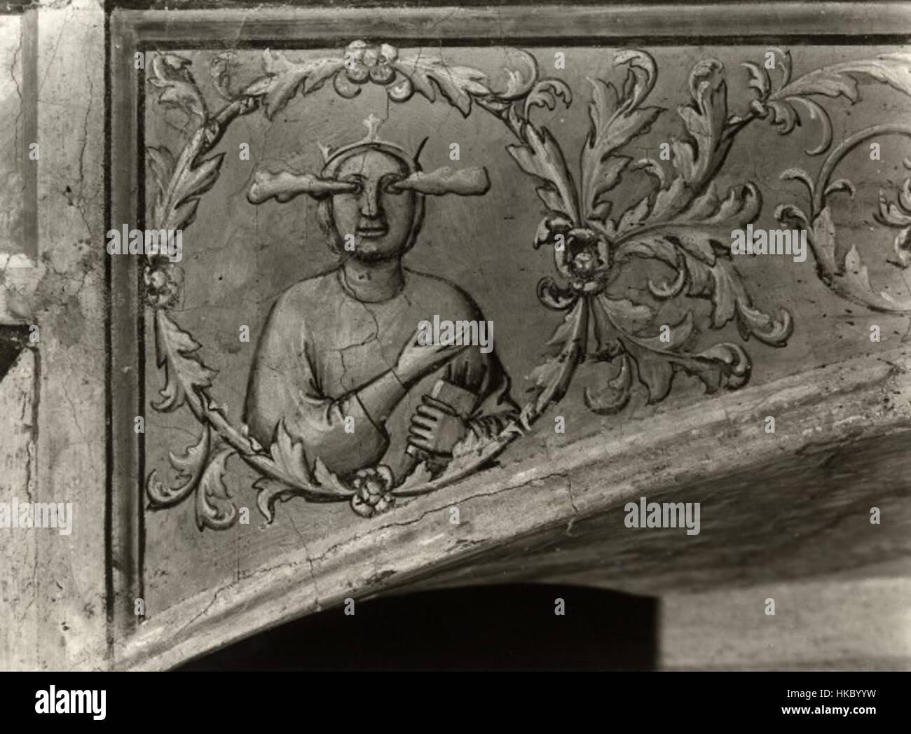Giotto, motivo decorativo 13 Immagini Stock