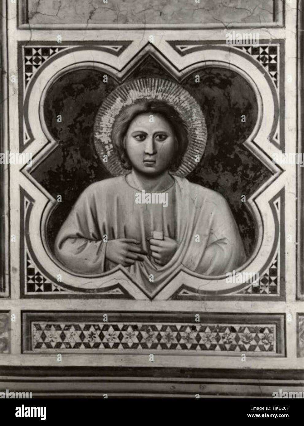 Giotto, motivo decorativo 04 Immagini Stock