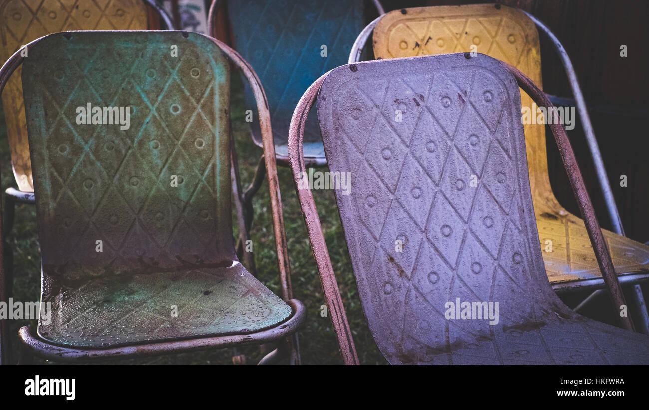 Sedie In Metallo Vintage : Sedia rossa vintage cross sedia metallo vintage sedie vintage e