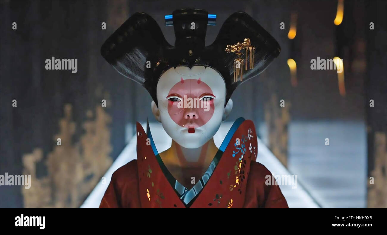 GHOST IN THE SHELL 2017 DreamWorks film Immagini Stock