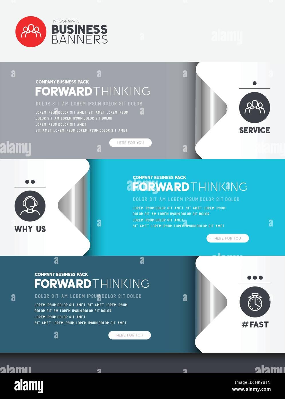 Infografico Business elementi con camera per il layout e il testo. Illustrazione Vettoriale Immagini Stock
