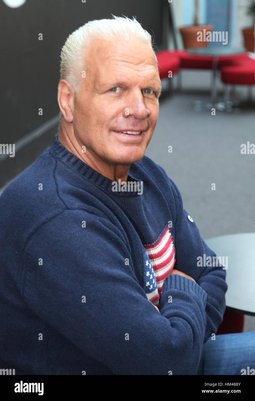 FRANK ANDERSSON wrestler svedese e il campione del mondo Immagini Stock