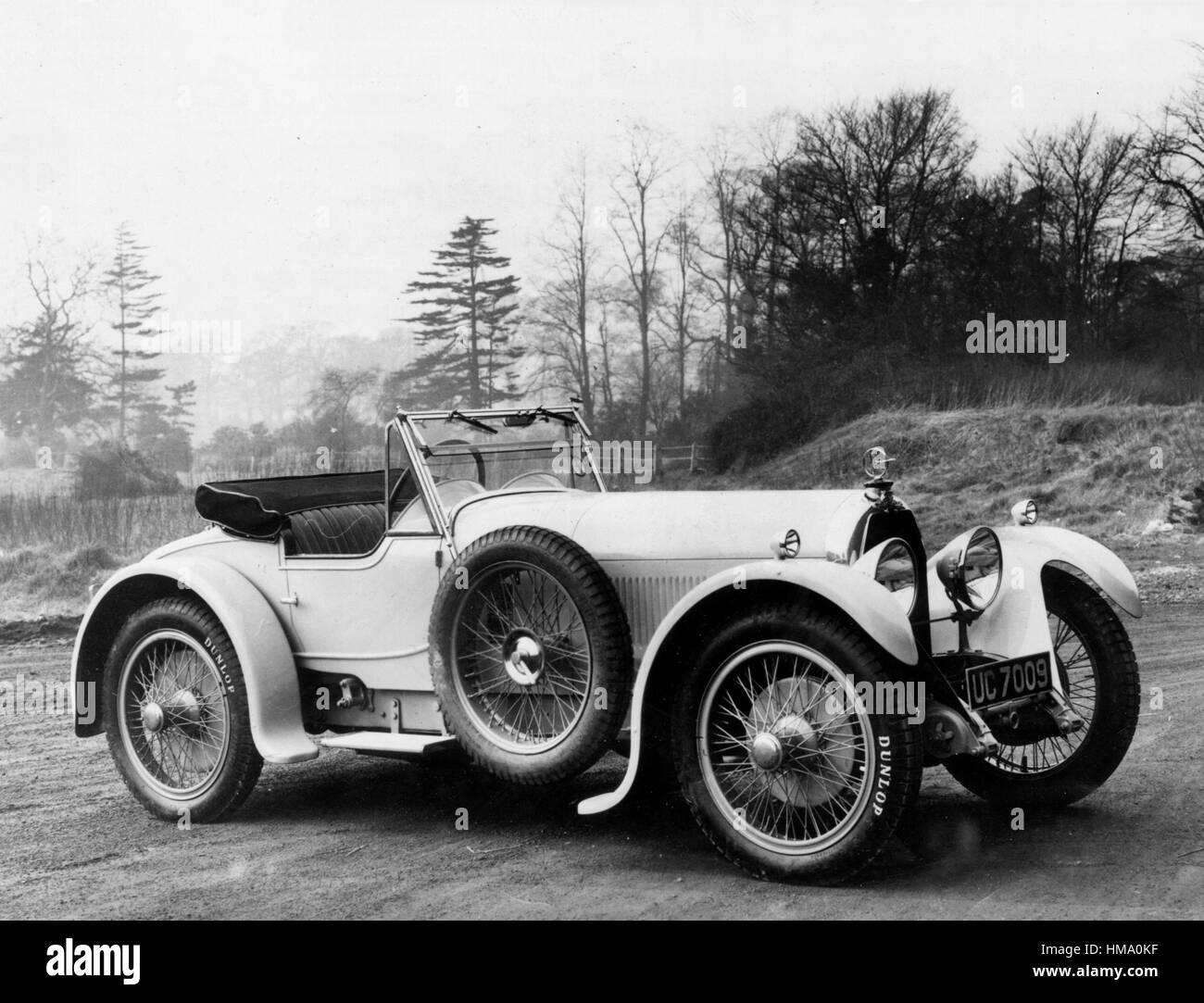 1928 Austro - Daimler 19/100hp VANDEN PLAS Immagini Stock